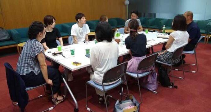 創業から数年のクリエイターが集まるミーティング開催!