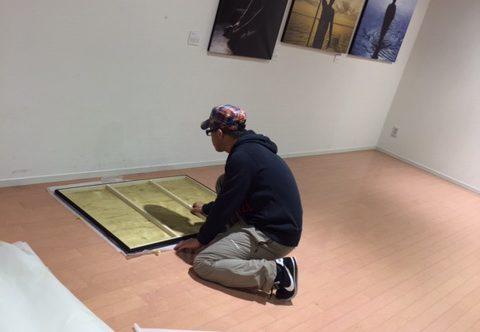 """上山敦司写真作品展""""祈り未来への道しるべ""""終わりました。"""