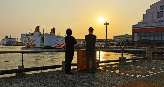 ODPでやってみた#3「南港の夕日に癒されてみた」