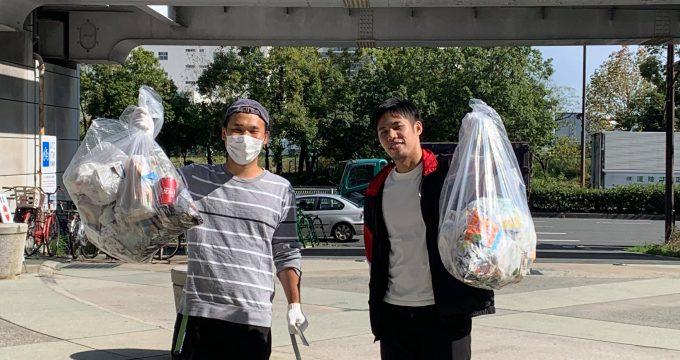 ODP入所企業と一緒に清掃活動に参加しました!